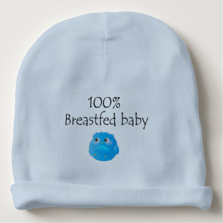 100% Breastfed Baby Baby Beanie