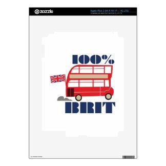 100% Brit Skins For iPad 3
