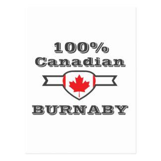 100% Burnaby Postcard