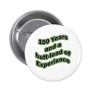 100 butt-load 2 inch round button