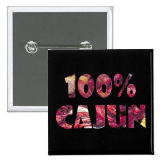 100% Cajun button