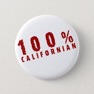 100 Californian Pinback Button
