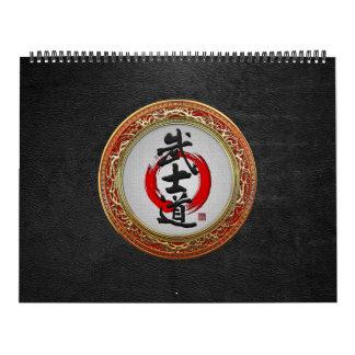 [100] Caligrafía japonesa - Bushido Calendario