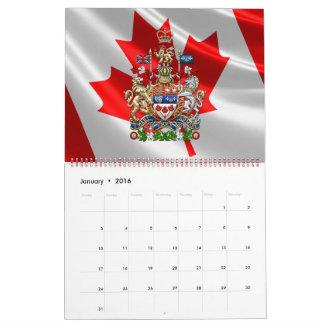 [100] Canada Coat of Arms [3D] Calendar