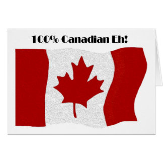 100% Canadian Card