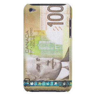 100 Canadian Dollar Bill iPod Touch Case