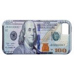 100 caso del iPhone 5 del billete de dólar iPhone 5 Case-Mate Protectores