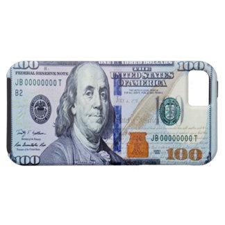 100 caso del iPhone 5 del billete de dólar Funda Para iPhone SE/5/5s