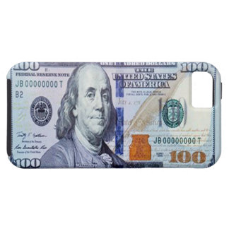 100 caso del iPhone 5 del billete de dólar iPhone 5 Carcasa