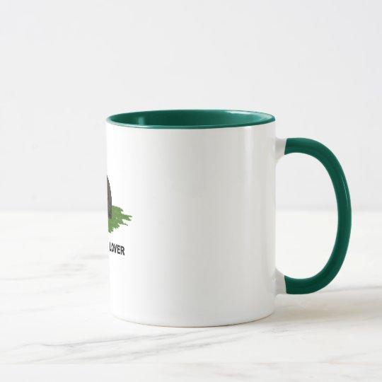 100%  Cat Lover  Tabby Mug