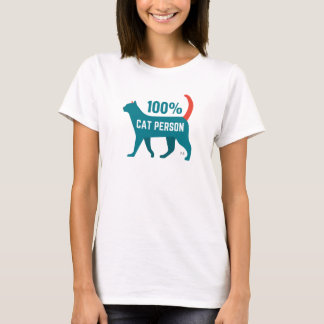 100% Cat Person Shirt