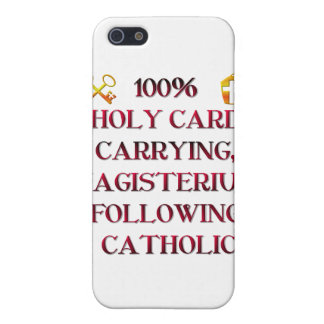 100% Catholic! iPhone SE/5/5s Case