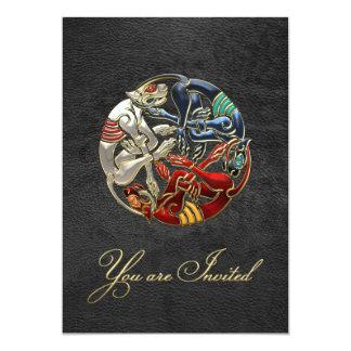 [100] Celtic Sacred Art - Three Dogs Card