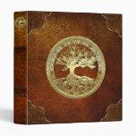 [100] Celtic Tree of Life [Gold] Binder