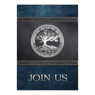 [100] Celtic Tree of Life [Silver] Card
