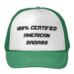 100% Certified American Badass Hat