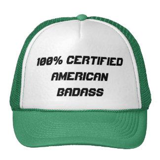 100% Certified American Badass Trucker Hat