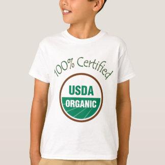 100% Certified USDA Organic T-Shirt