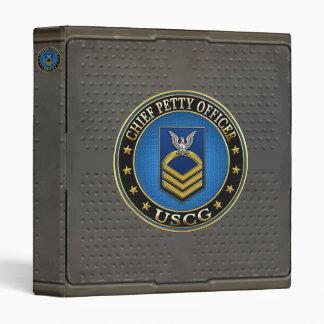 [100] CG: Chief Petty Officer (CPO) 3 Ring Binder