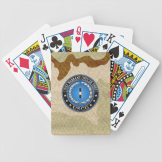 [100] CG: Chief Warrant Officer 3 (CWO3) Bicycle Playing Cards