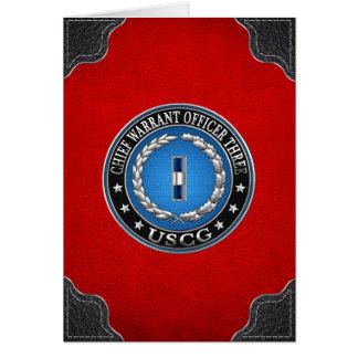 [100] CG: Chief Warrant Officer 3 (CWO3) Card