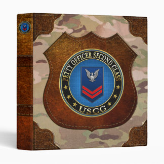 [100] CG: Petty Officer Second Class (PO2) 3 Ring Binder