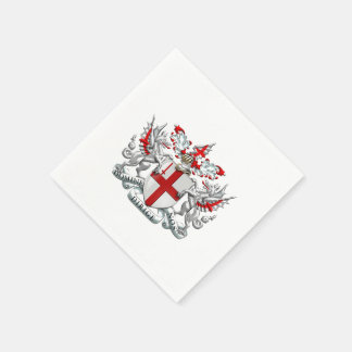 [100] City of London - Coat of Arms Standard Cocktail Napkin