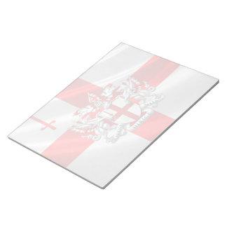[100] Ciudad de Londres - escudo de armas Libreta Para Notas