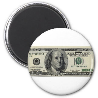 100 cosas de la epopeya del dólar imán redondo 5 cm