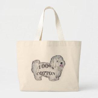 100% Cotton Jumbo Tote Bag