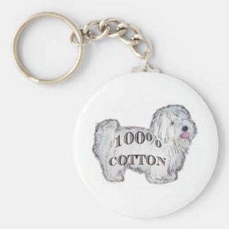100% Cotton Keychain