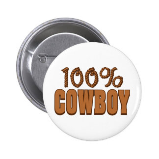 100% Cowboy Pins
