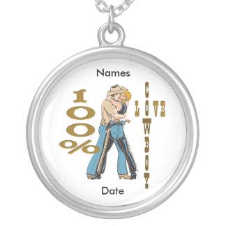 100 % Cowboy Love  Necklace