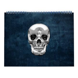 [100] Cráneo humano de plata Calendarios