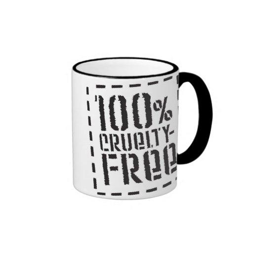 100% Cruelty Free Coffee Mug