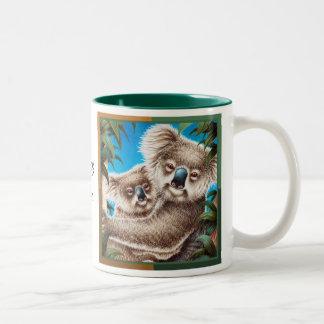 100% Cute! Koala & Baby Mug