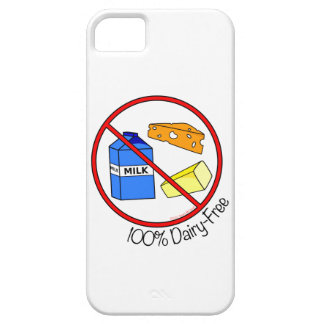 """""""100% Dairy Free"""" iPhone 5 iPhone SE/5/5s Case"""
