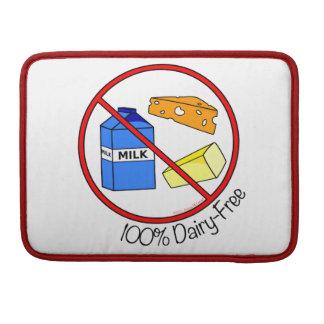 """""""100% Dairy Free"""" MacBook Pro Sleeve"""