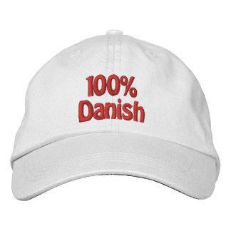 100% Danish Embroidered Baseball Cap