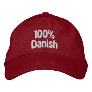 100% Danish Embroidered Baseball Hat