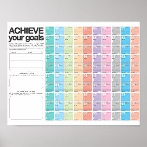 512 x 512 jpeg 139kB, 100 Day Planning Calendar D-Day Print | Zazzle