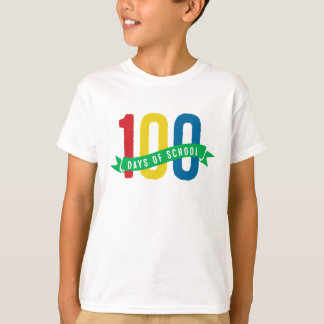 100 days of school kid shirt