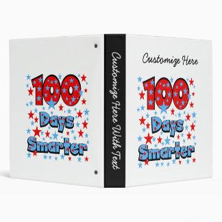 100 Days Smarter Binder
