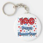 100 Days Smarter Key Chain