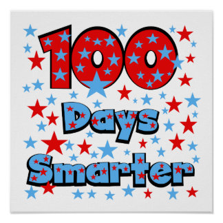 100 Days Smarter Poster