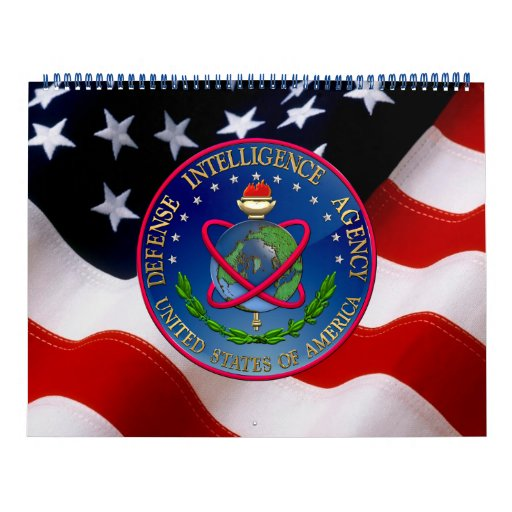 [100] Defense Intelligence Agency (DIA) Seal Wall Calendar