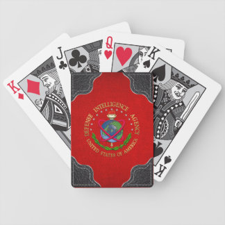 [100] Defense Intelligence Agency: DIA Special Edn Bicycle Playing Cards