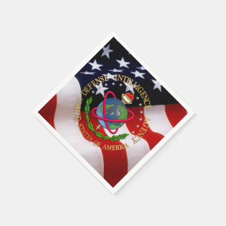 [100] Defense Intelligence Agency: DIA Special Edn Disposable Napkins