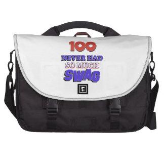 100 diseños años bolsas de portátil