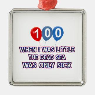 100 diseños años del cumpleaños del mar muerto adornos